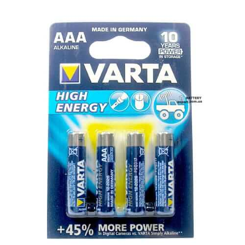 AAA Varta High Energy